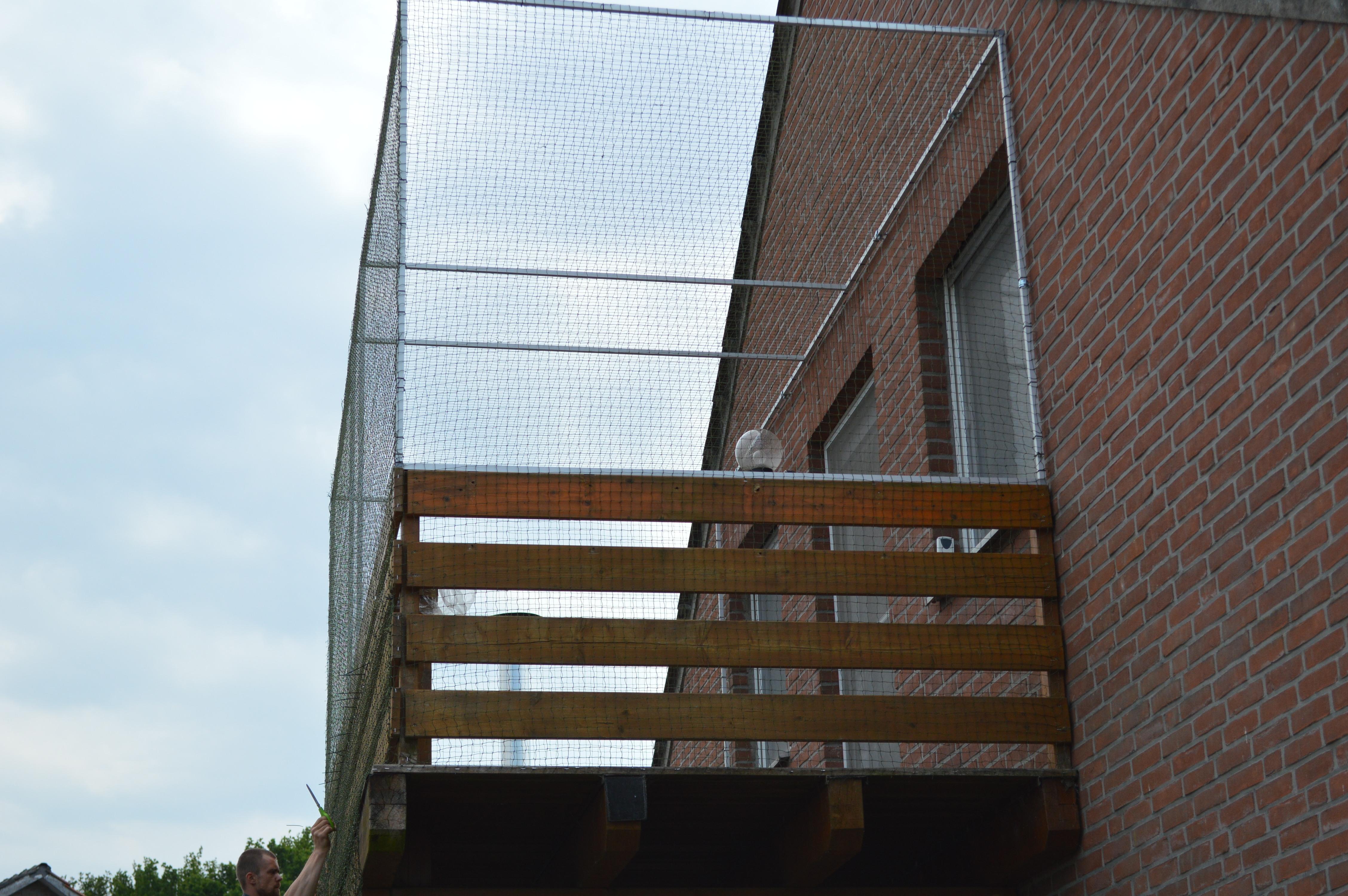 balkon in hamminkeln mit katzennetz vom fachmann gesichert katzennetze nrw. Black Bedroom Furniture Sets. Home Design Ideas