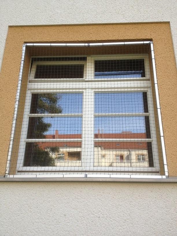 Katzennetz für Fenster