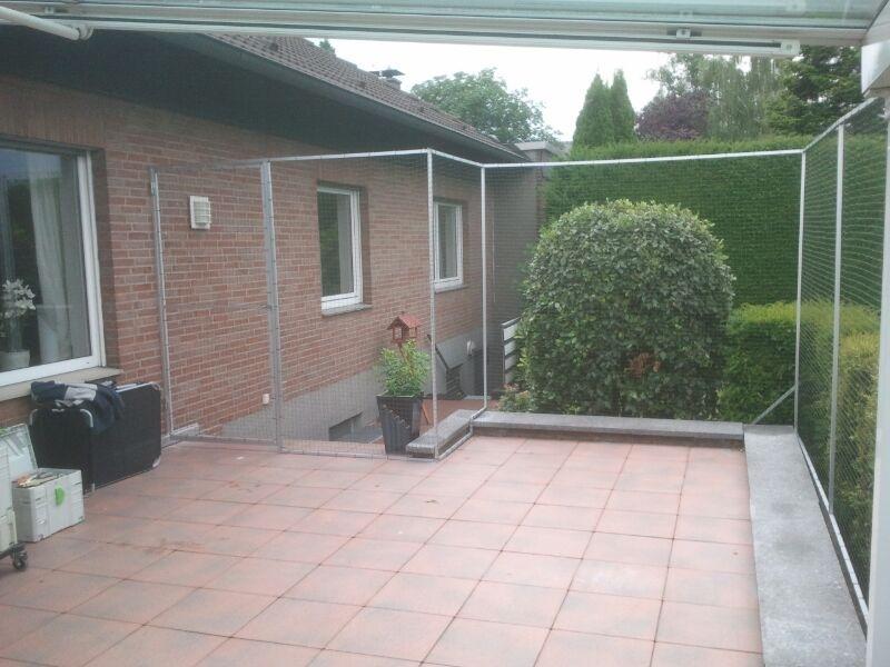 Katzennetz Terrasse in Bottrop