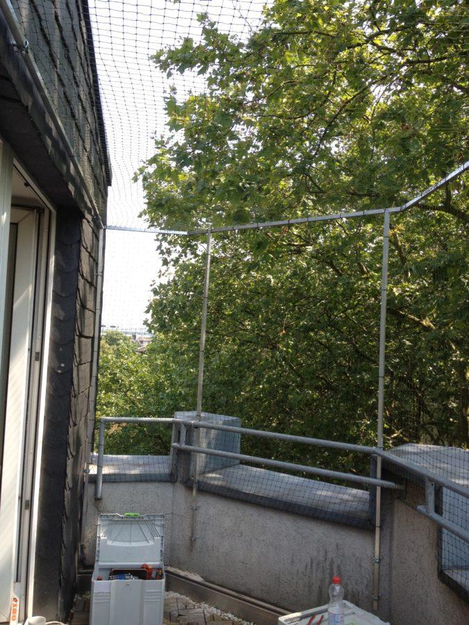 Balkon Ketzennetz für Katze
