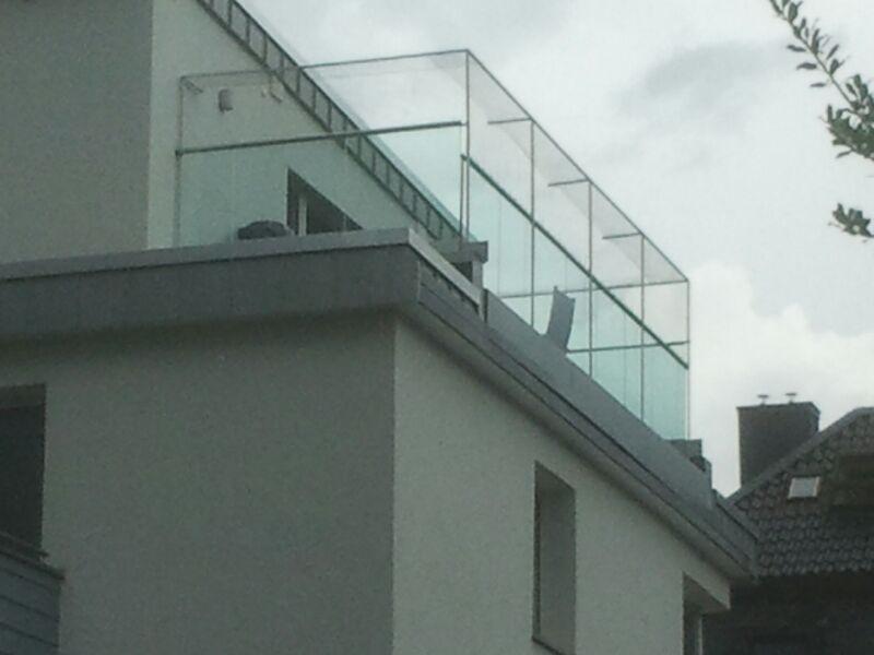 Dachterrasse mit Katzennetz gesichert