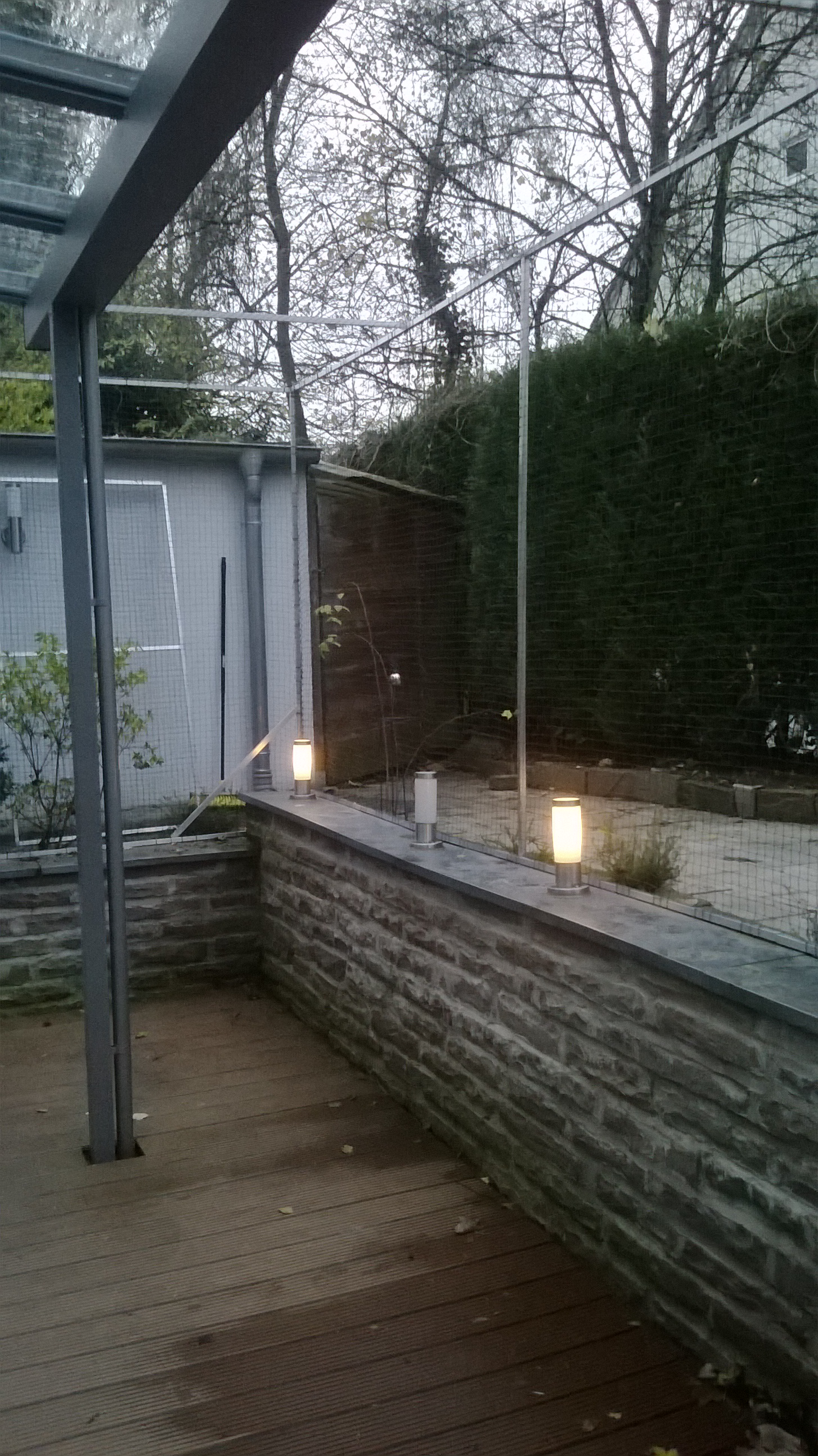 Terrassenvernetzung – Katzennetz Terrasse