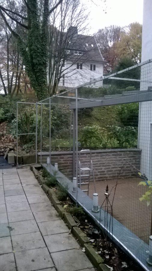 Katzennetz Terrasse Firma