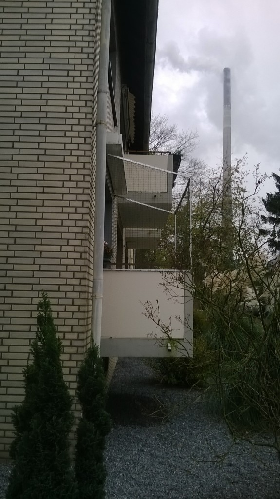 Balkon vom Profi gesichert