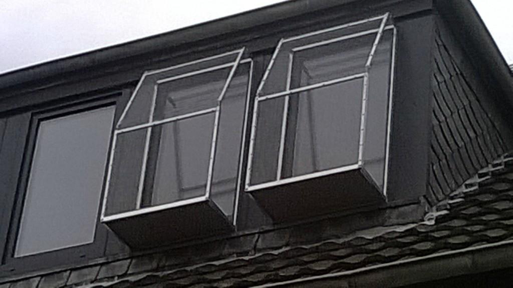 Fenster auch mit Katzenbalkon schließbar