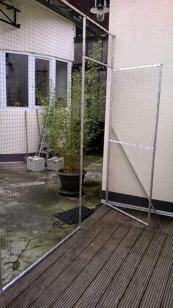 Katzennetz Profi Tür