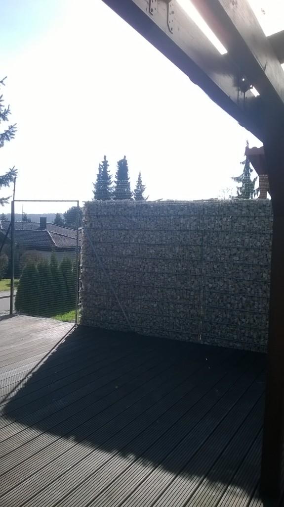 Gabionen katzennetz