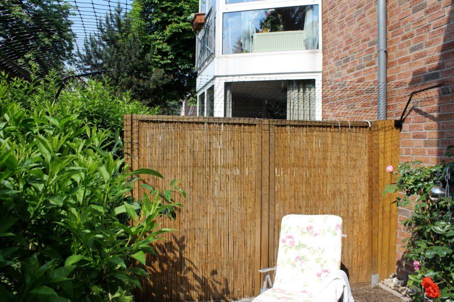 berkletterschutz für Gartenzaun