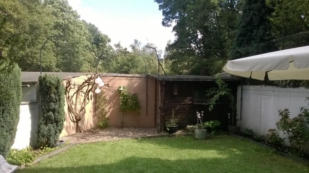 katzensichere Gartenvernetzung in Duisburg