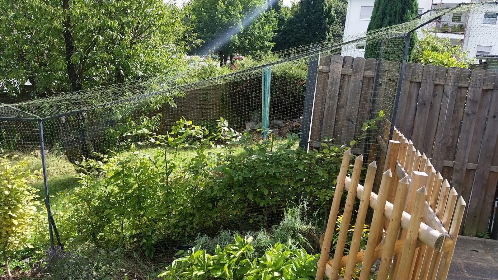 Gartensicherung Katzennetz