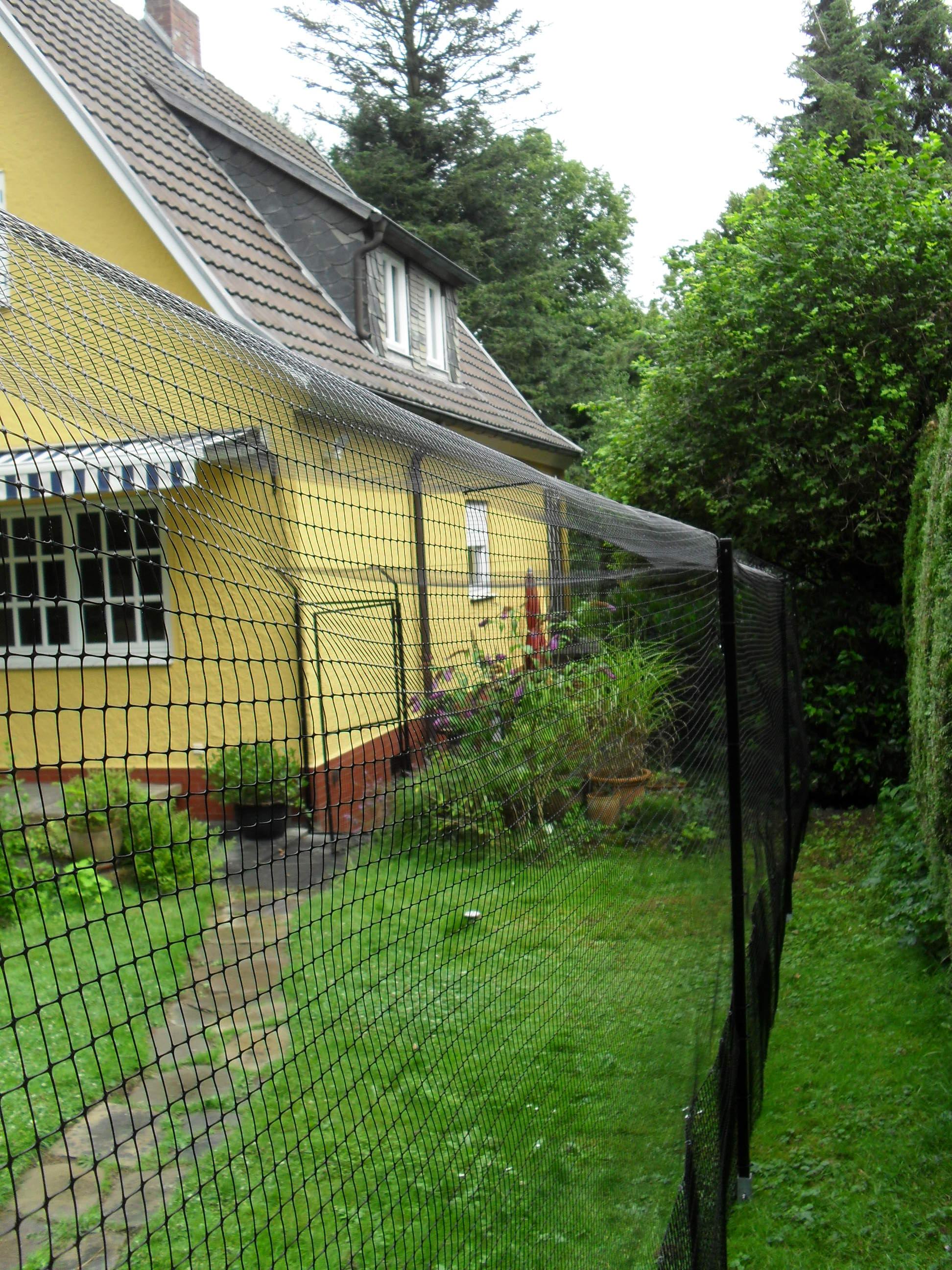 Katzengehege system als gartensicherung katzennetze for Whirlpool garten mit rollrasen balkon katze