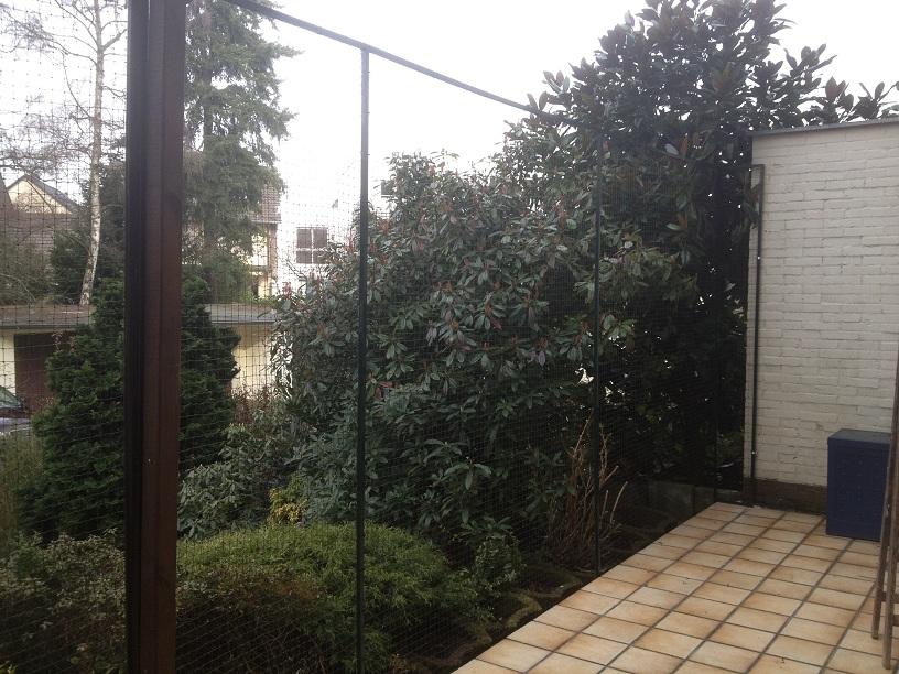 Katzennetz Terrasse Hilden