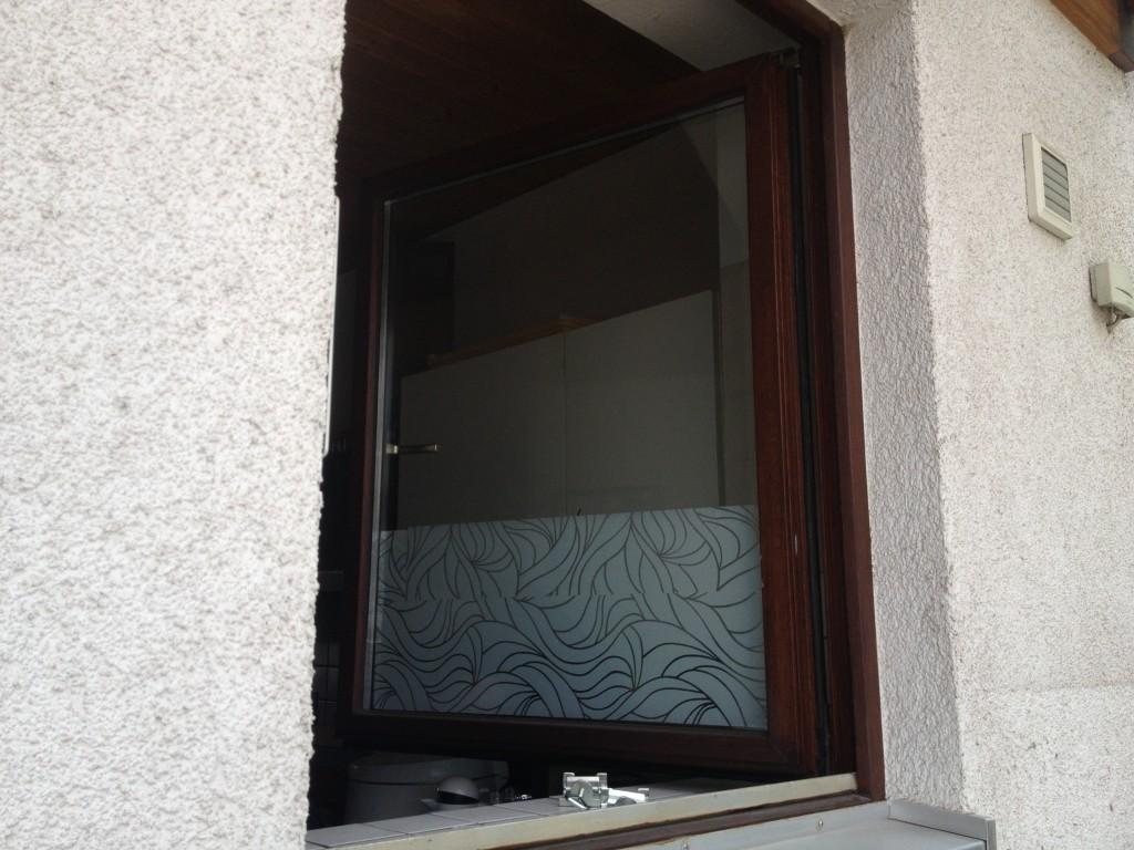 Das Problem: Dieses Fenster soll als Auslauf für die Katze dienen