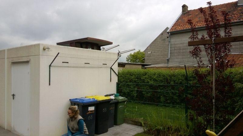 Katzennetz im Garten und an Garage