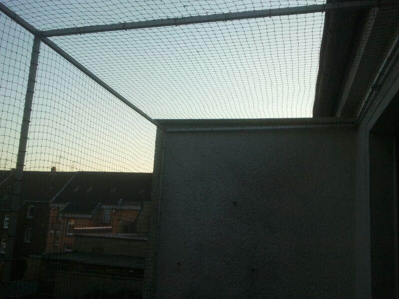 Katzennetz für Balkon