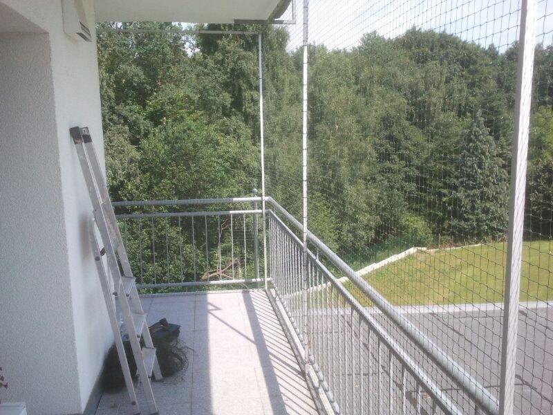 Katzenschutznetz Balkon
