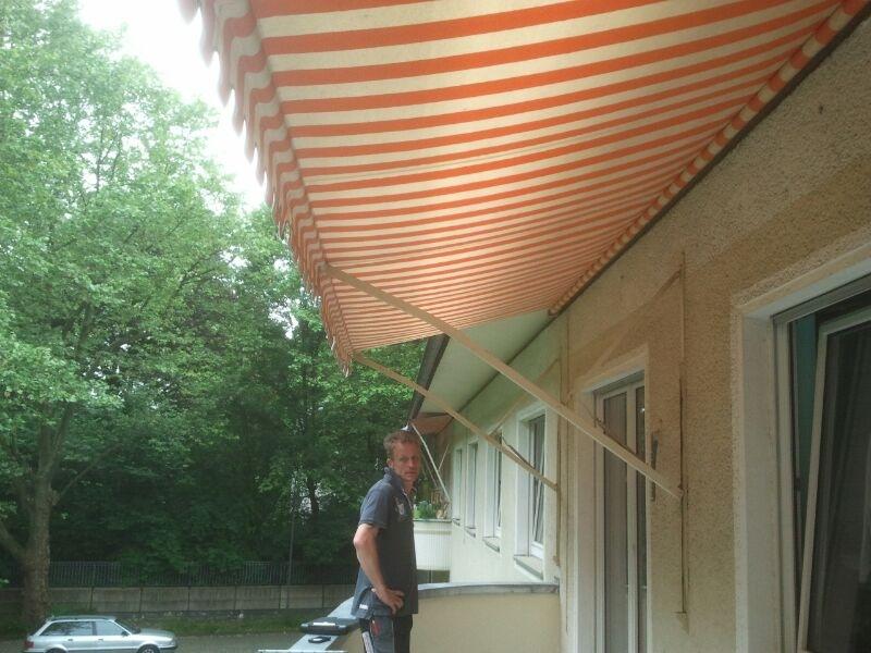 Der Sonnenschutz soll möglichst weiterhin ausklappbar sein
