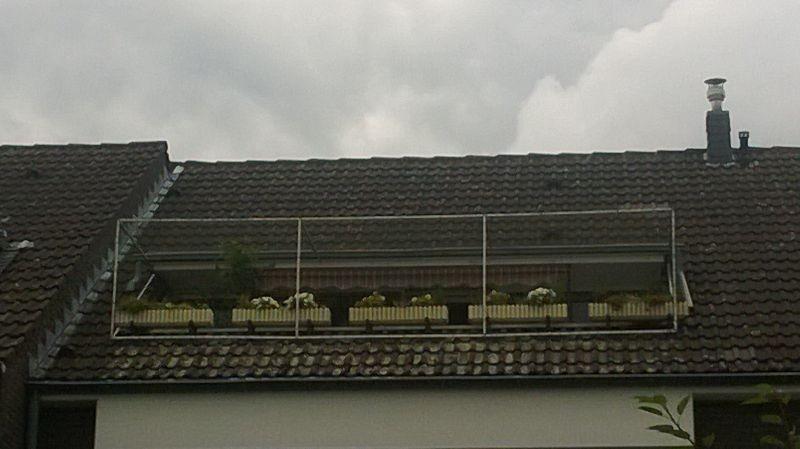 Katzennetz für Dachloggia in Tönisvorst, nähe Krefeld