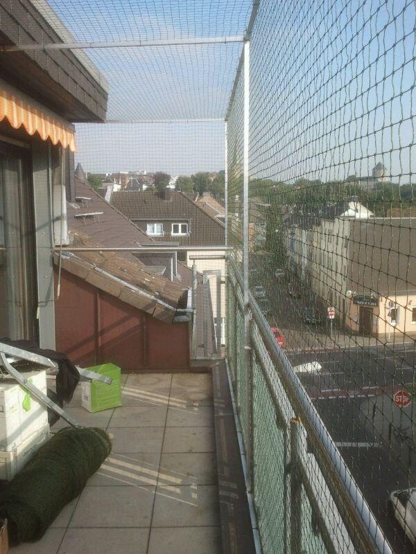 Katzennetz Dachterrasse