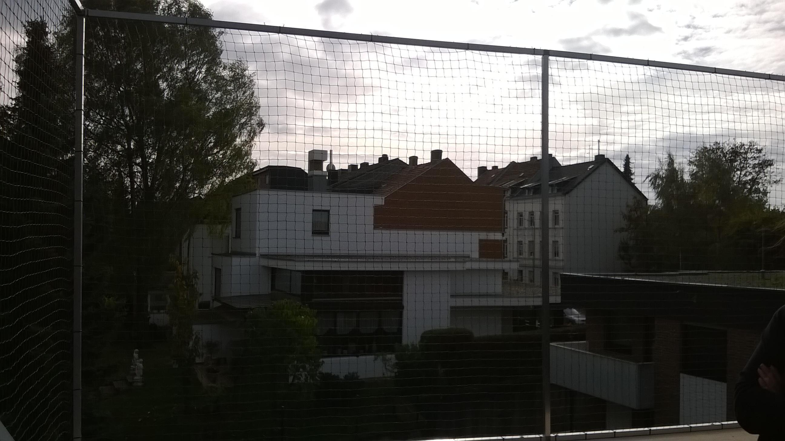 loggia dachbalkon in stolberg bei aachen katzensicher mit katzennetz vernetzt katzennetze. Black Bedroom Furniture Sets. Home Design Ideas