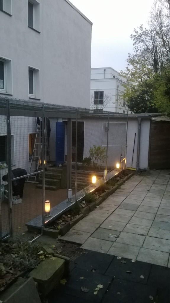 Das Katzengehege für Terrassen und Garten
