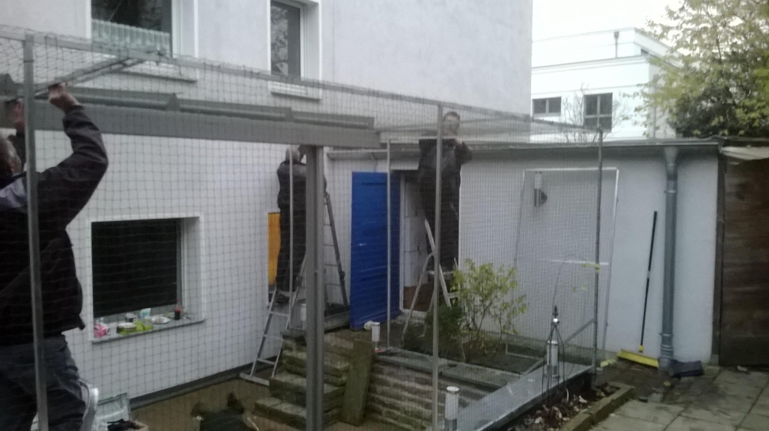 Terrasse Im Ruhrgebiet Katzensicher Gemacht Vom Fachmann Fur