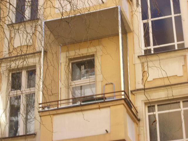 Katzennetz am Balkon ohne bohren angebracht