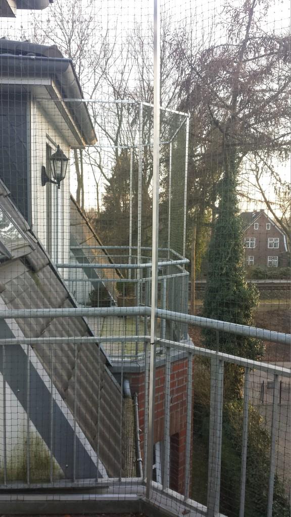 Balkonvernetzung für Katzen in Hamburg