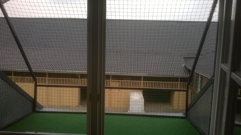 Katzensicheres Fenster - Der Käfig für das Fenster
