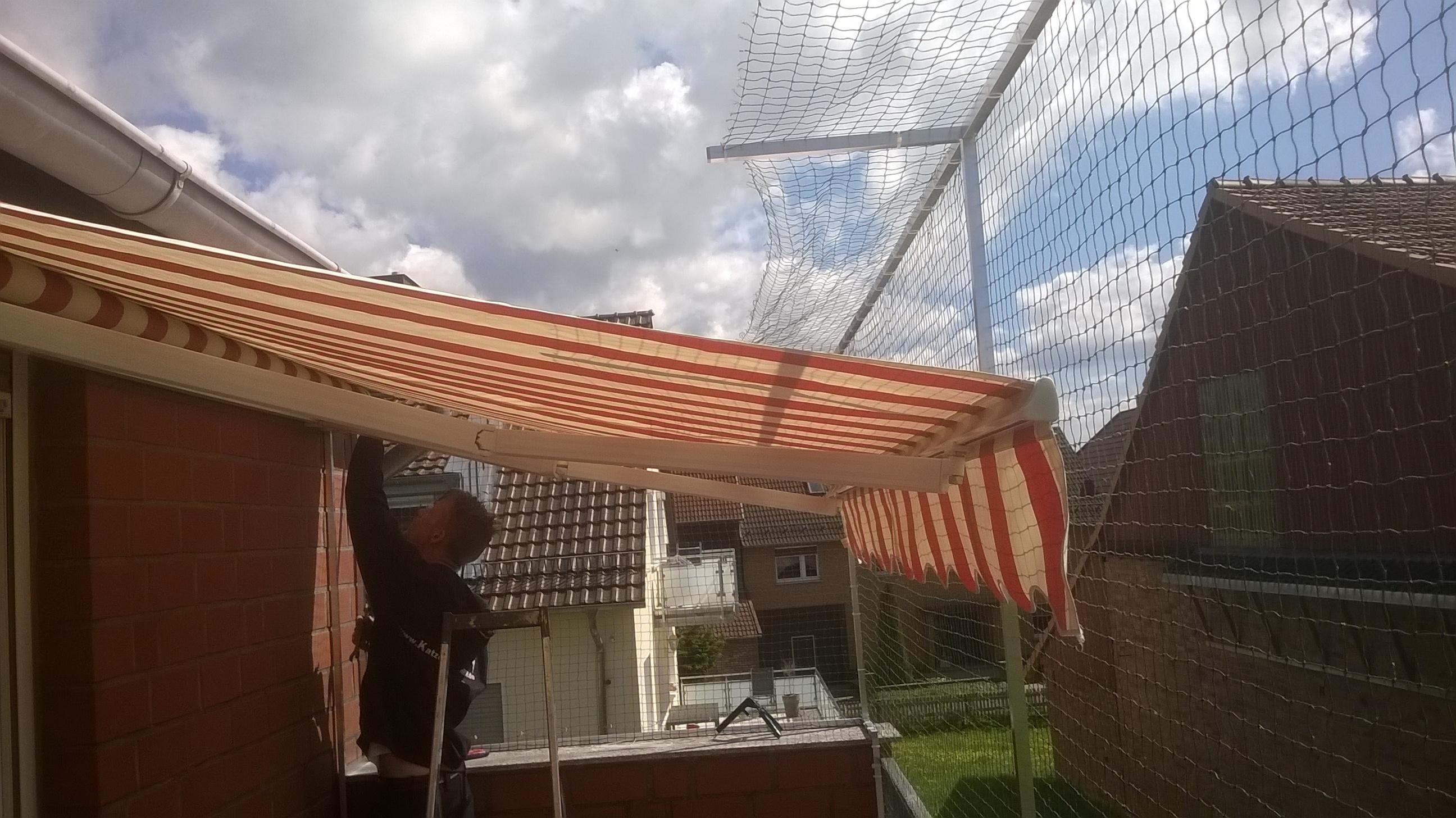 Freistehendes Katzennetz F R Balkon Ohne Bohren