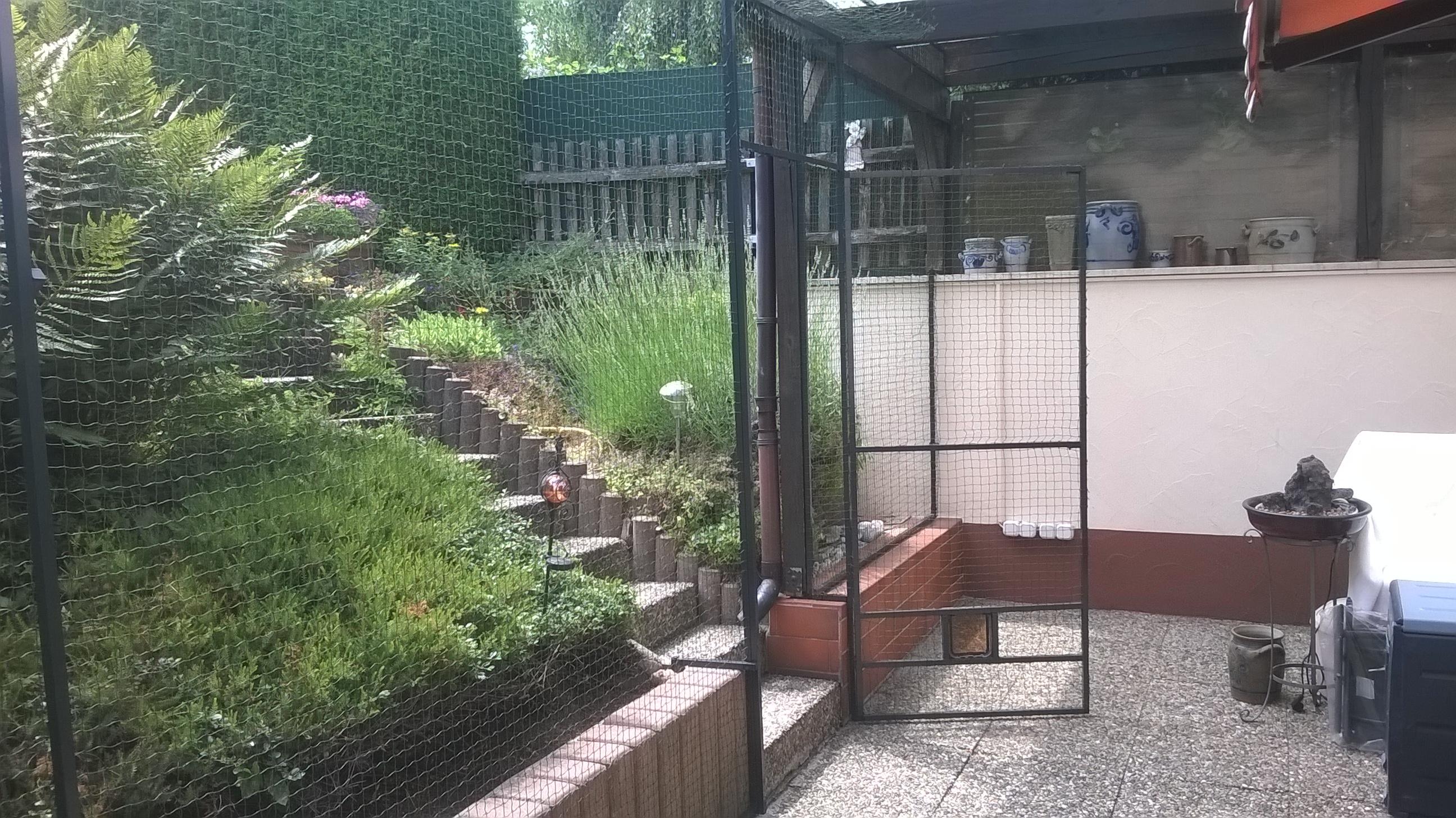 Hervorragend Terrassenvernetzung – Katzennetz Terrasse | Katzennetze NRW - Der MT58