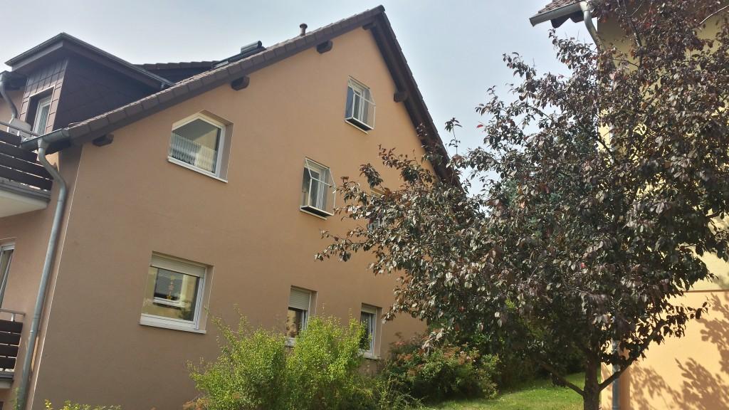 Katzenbalkon in Sondershausen