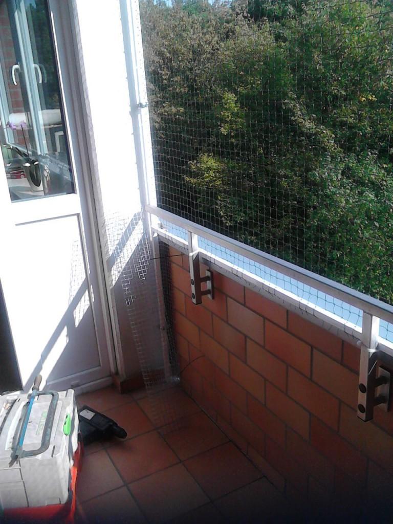 Katzennetz Balkonsystem