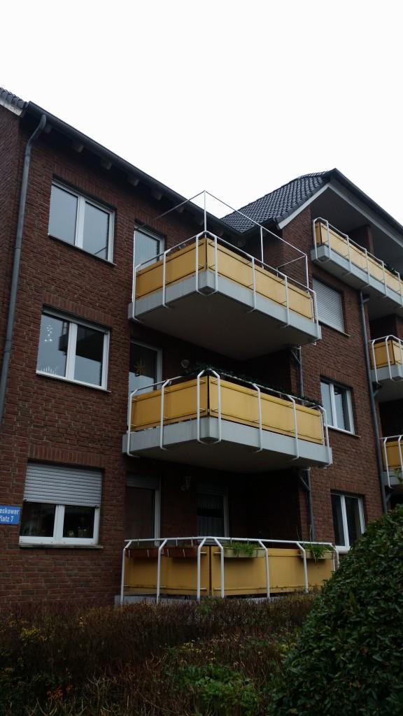 Balkon katzensicher