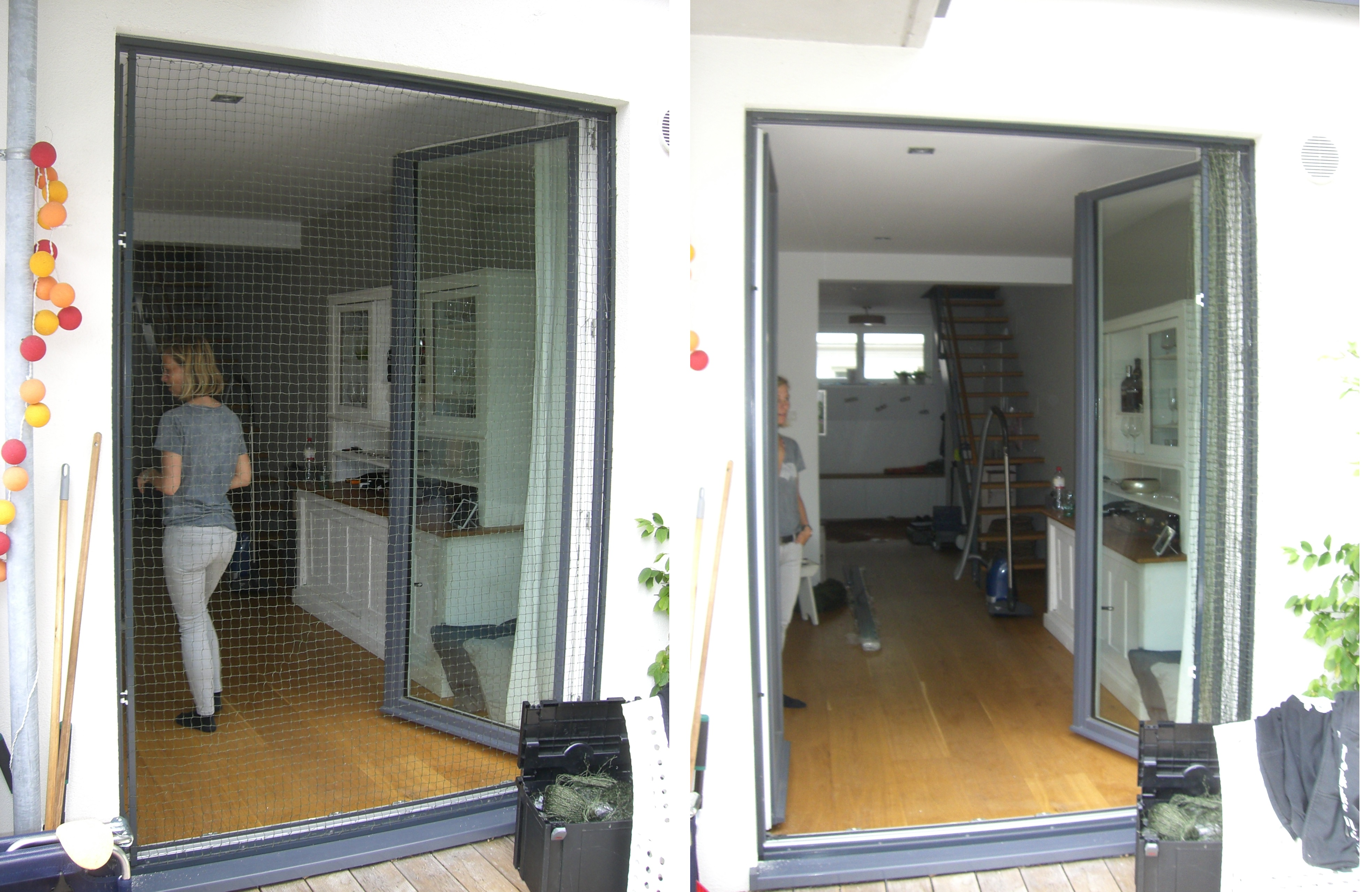 balkon t r in hamburg katzensicher mit katzennetz vernetzt katzennetze nrw der. Black Bedroom Furniture Sets. Home Design Ideas