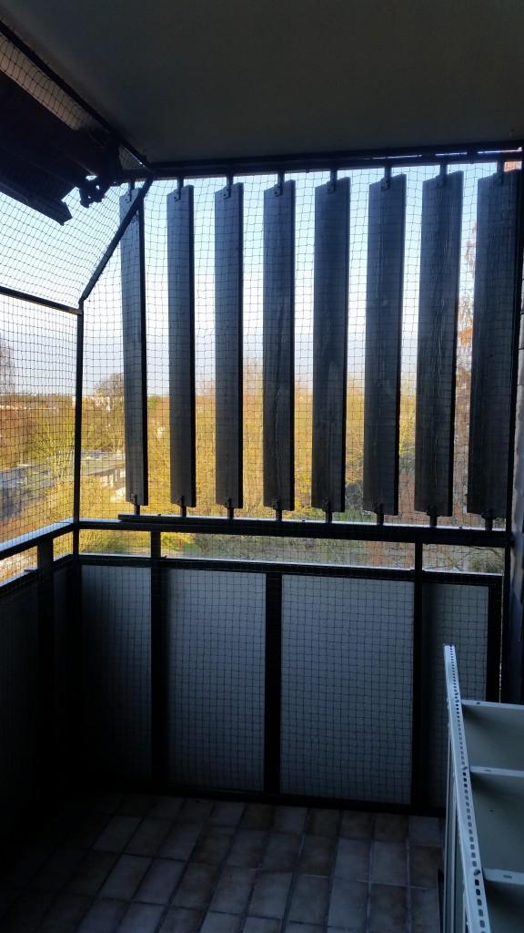 Balkon Katzennetz Sonnenschutz