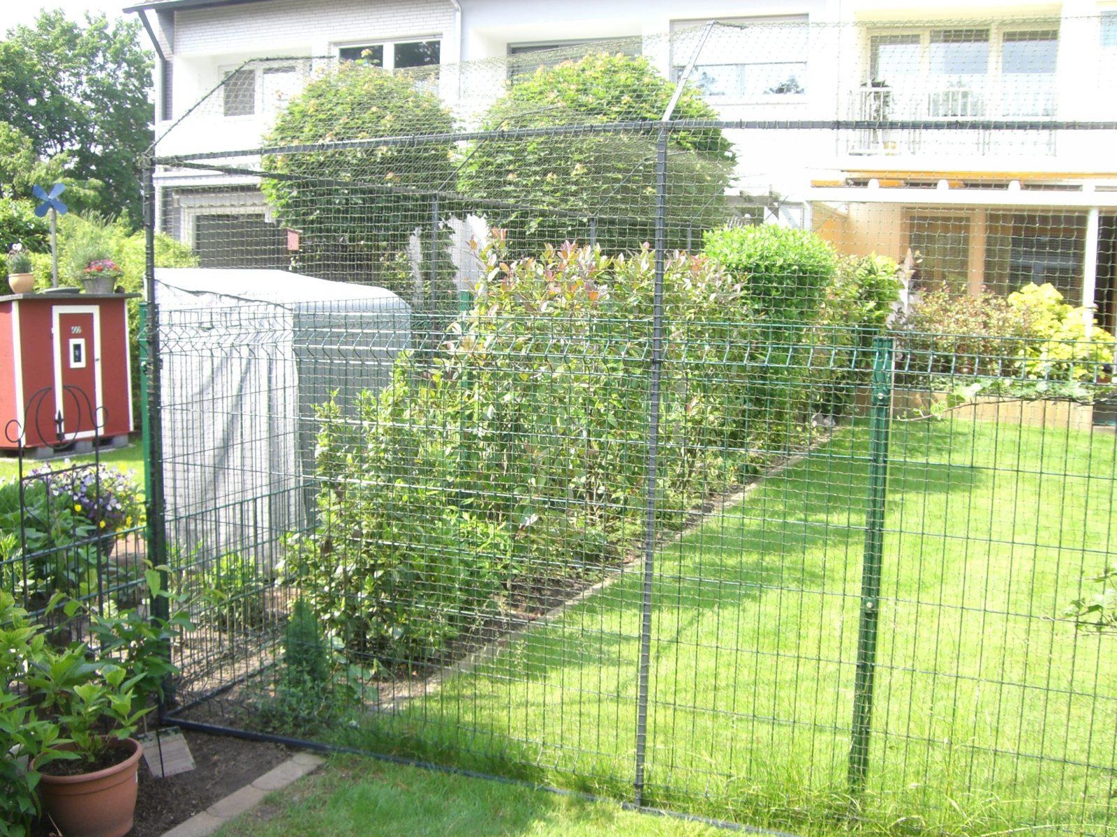 Garten katzensicherung Katzennetz Profi