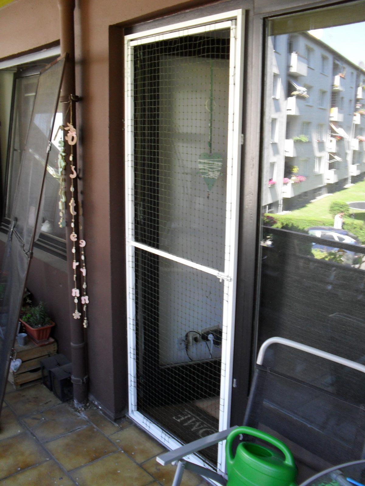 Katzennetz Balkontür ohne bohren
