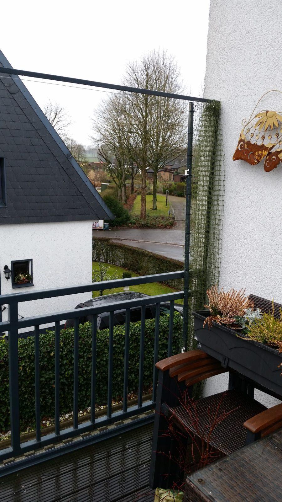 aufschiebbares katzennetz f r balkon katzennetze nrw der katzennetz profi. Black Bedroom Furniture Sets. Home Design Ideas