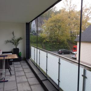 Balkonsicherung mit Katzennetz ohne bohren