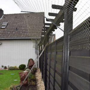 doppelter Überkletterschutz Katzennetze NRW