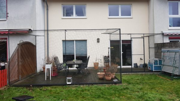 Terrasse katzensicher vom Katzennetz-Profi