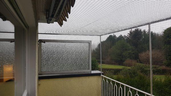 Obernetz und Balkonnetz vom Katzennetz-Profi